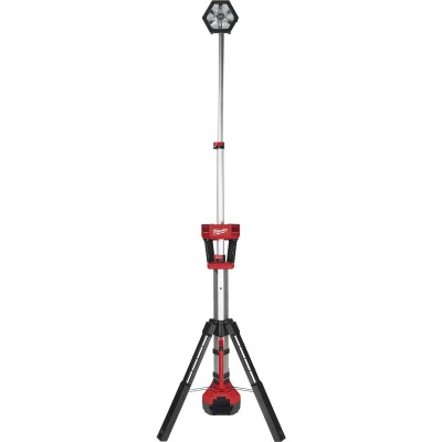 Milwaukee M18 ROCKET 18 Volt Lithium-Ion LED Dual Power Tower Cordless Work Light (Bare Tool)