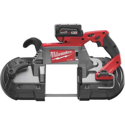 Milwaukee M18 FUEL 18 Volt Lithium-Ion Brushless Deep Cut Cordless Band Saw Kit