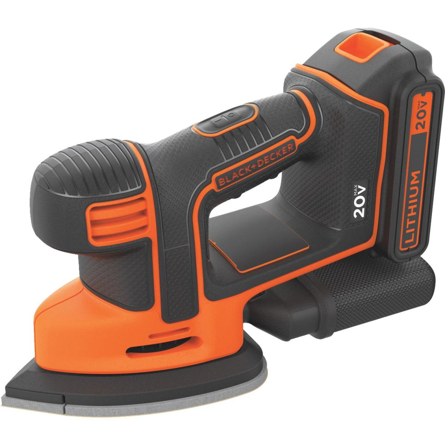 Black & Decker 20-Volt MAX Lithium-Ion Mouse Cordless Finish Sander Image 1