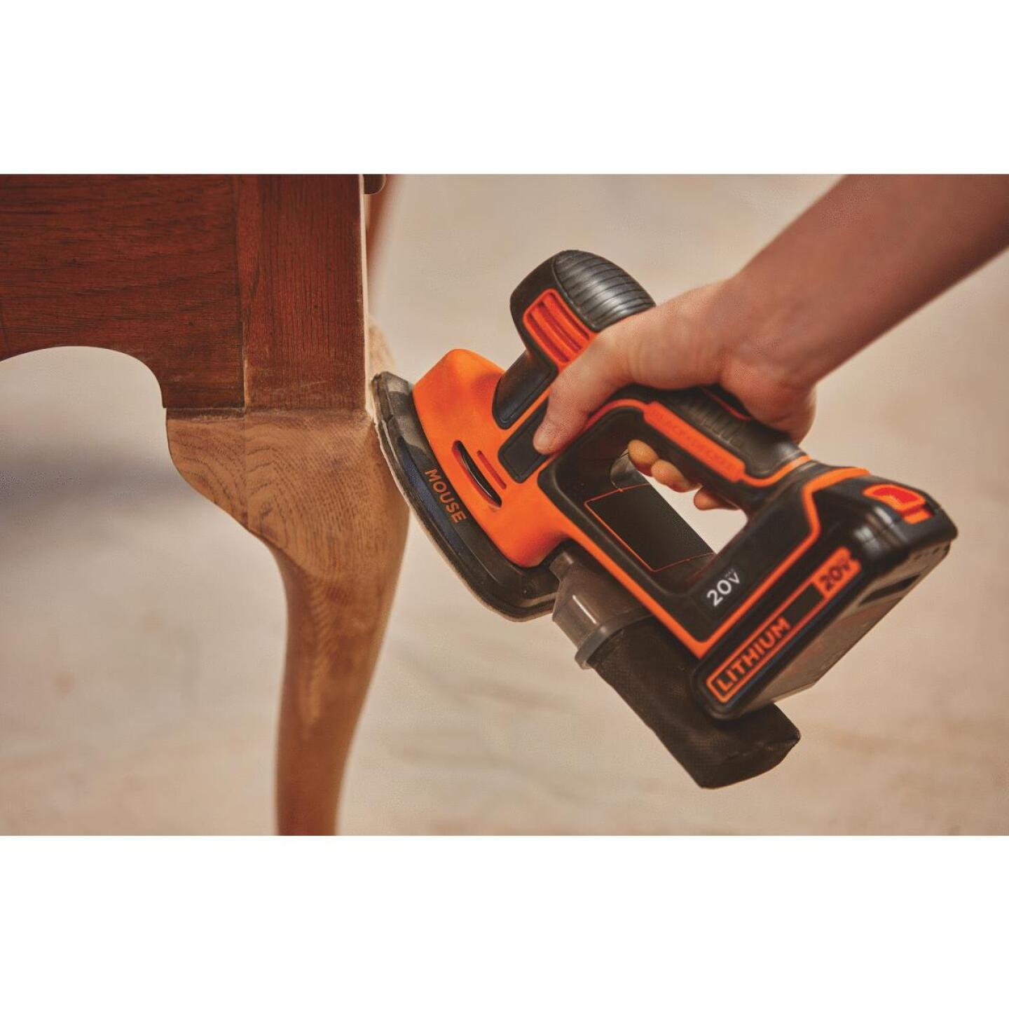 Black & Decker 20-Volt MAX Lithium-Ion Mouse Cordless Finish Sander Image 2