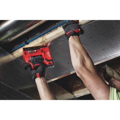 Milwaukee M12 12-Volt Lithium-Ion 3/8 In. Crown Cordless Finish Stapler Kit