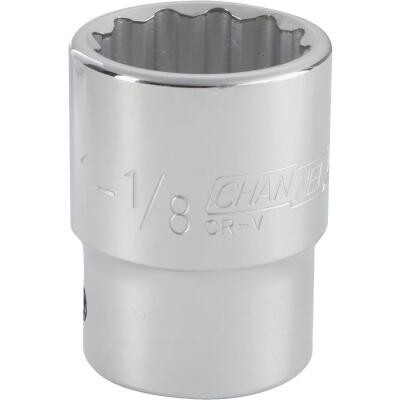 Channellock 3/4 In. Drive 1-1/8 In. 12-Point Shallow Standard Socket