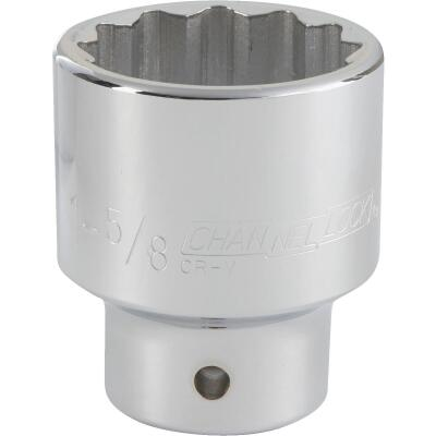 Channellock 3/4 In. Drive 1-5/8 In. 12-Point Shallow Standard Socket