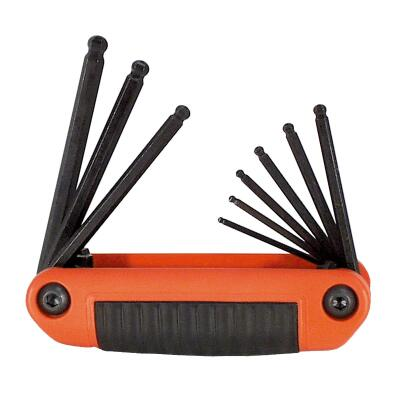 Eklind Ergo-Fold Ball-End Hex Key Set, 9-Piece