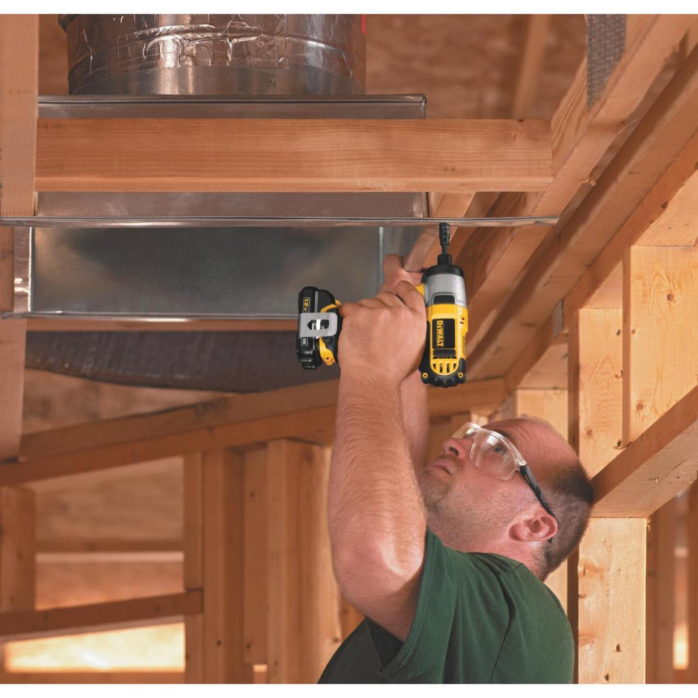 DeWalt XTREME 12V MAX XR Lithium-Ion 1/4 In. Hex Brushless Cordless Impact Driver Kit Image 2