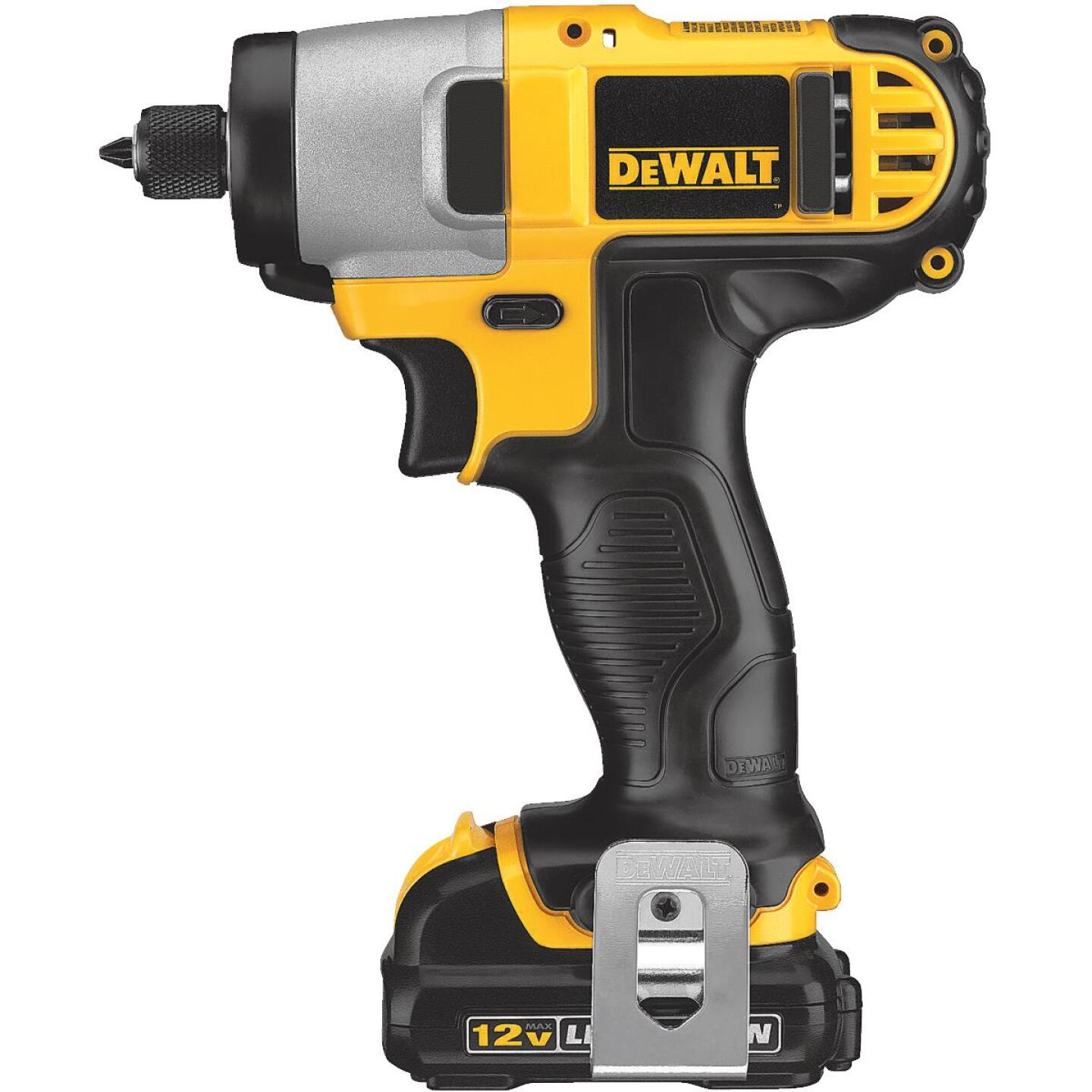 DeWalt XTREME 12V MAX XR Lithium-Ion 1/4 In. Hex Brushless Cordless Impact Driver Kit Image 4