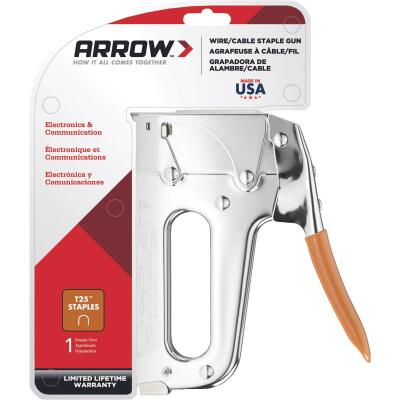 Arrow T25 Heavy-Duty Wire and Cable Staple Gun