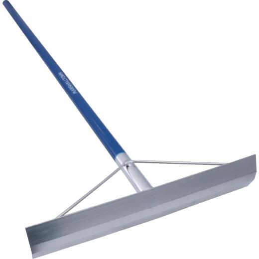 Marshalltown 4 In. x 19-1/2 In. Concrete Rake (without Hook-Welded Handle)