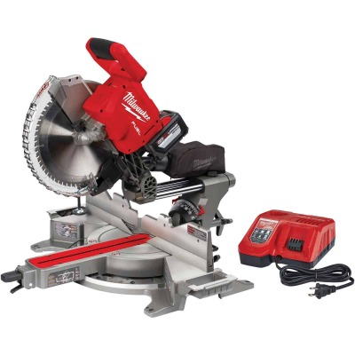 Milwaukee M18 FUEL 12 In. Brushless Dual Bevel Sliding Cordless Miter Saw Kit