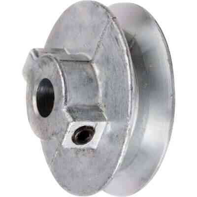 Chicago Die Casting 7 In. x 3/4 In. Single Groove Pulley