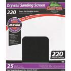 Gator Grit 220 Grit 9 In. x 11 In. Drywall Sanding Screen (25 Pack) Image 1