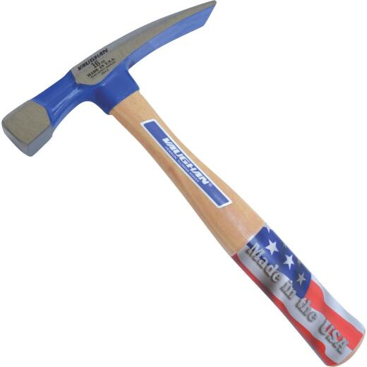Vaughan 16 Oz. Steel Brick Hammer with Hickory Handle