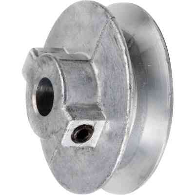 Chicago Die Casting 3 In. x 3/4 In. Single Groove Pulley