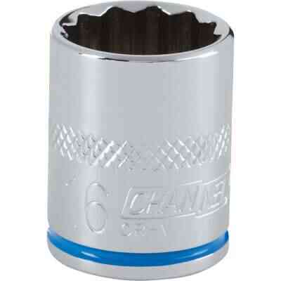 Channellock 3/8 In. Drive 16 mm 12-Point Shallow Metric Socket