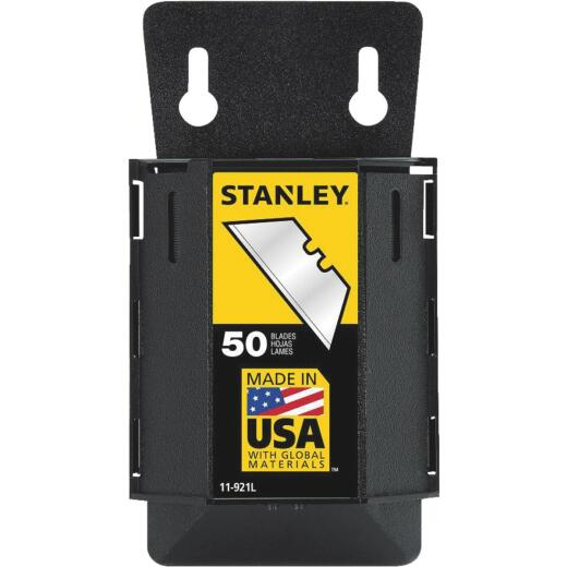 Stanley 2-Point Heavy-Duty 2-7/16 In. Utility Knife Blade (50-Pack)