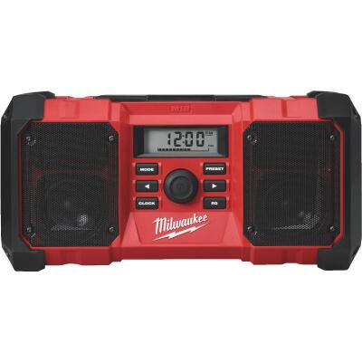 Milwaukee M18 18-Volt Lithium-Ion Cordless Jobsite Radio (Bare Tool)