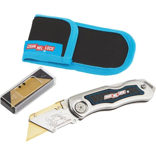 Channellock Lockback Fixed Folding Utility Knife
