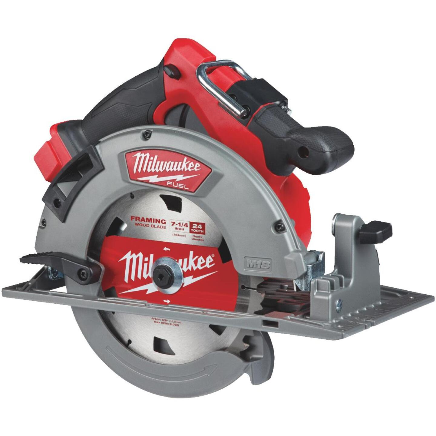 Milwaukee M18 FUEL 18 Volt Lithium-Ion Brushless 7-1/4 in. Cordless Circular Saw (Bare Tool) Image 1