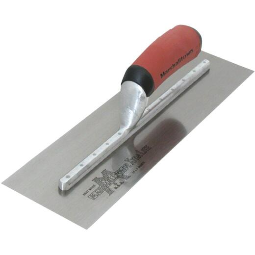 Marshalltown 4 In. x 12 In. Finishing Trowel with Curved DuraSoft Handle