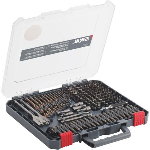 SKIL 120-Piece Drill and Drive Set with Bit Grip Magnetic Bit Collar