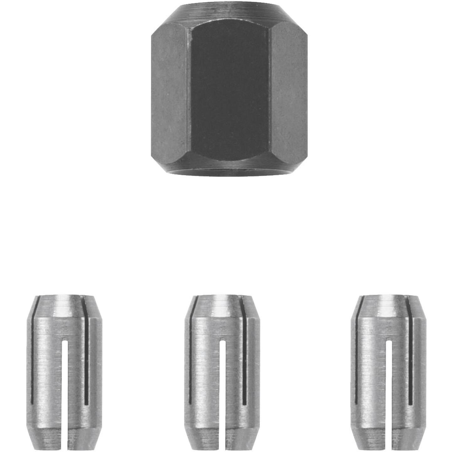 RotoZip 1/8 In., 5/32 In., 1/4 In. Collet Nut Kit (4-Pieces) Image 1