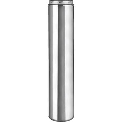 SELKIRK Sure-Temp 6 In. x 48 In. Stainless Steel Insulated Pipe