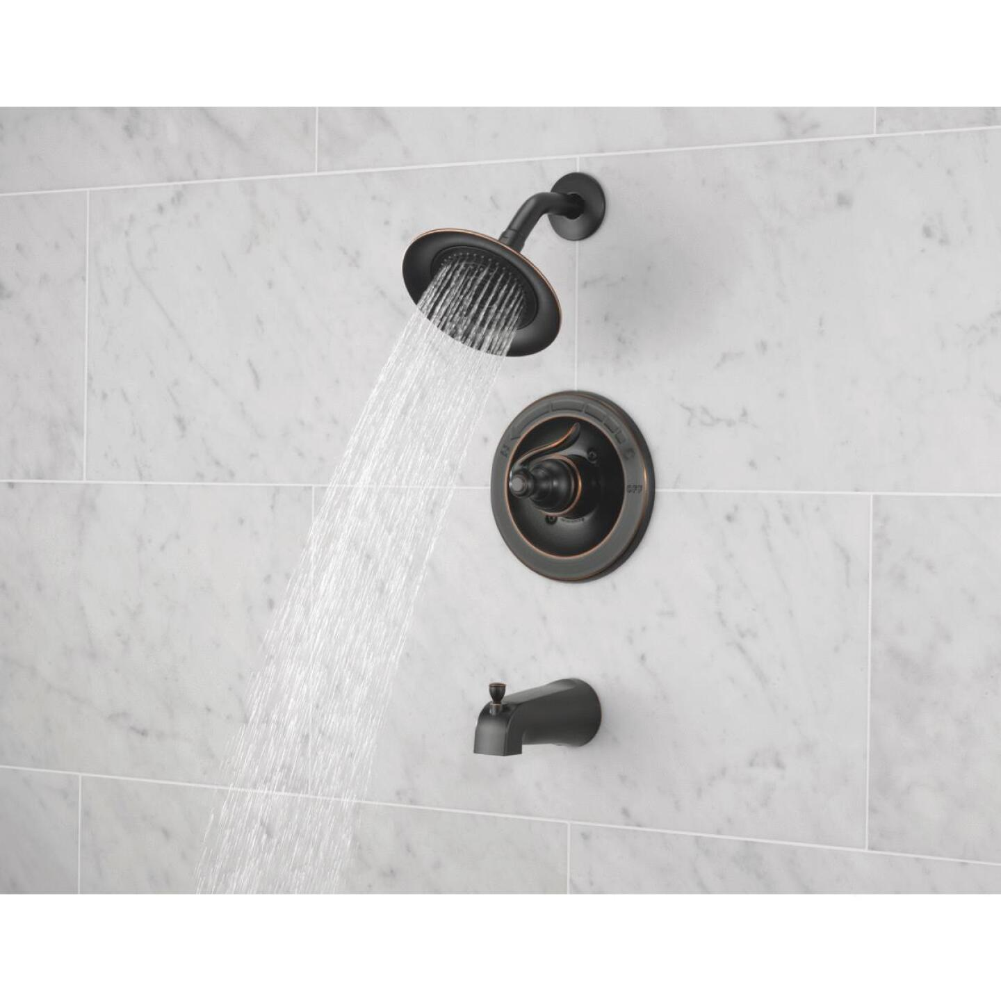 Delta Oil-Rubbed Bronze Single-Handle Lever Tub & Shower Faucet Image 1