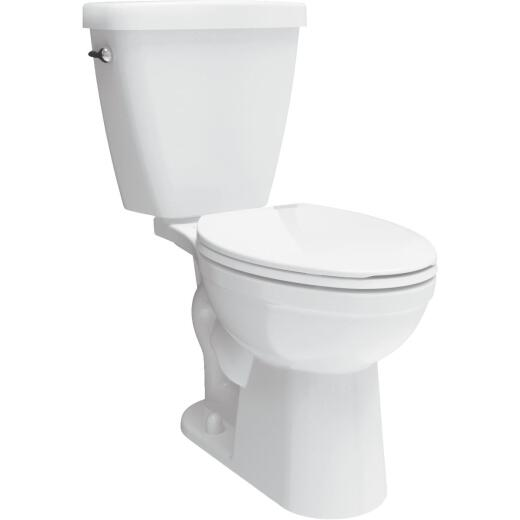 Delta Prelude White Elongated Bowl 1.28 GPF Toilet
