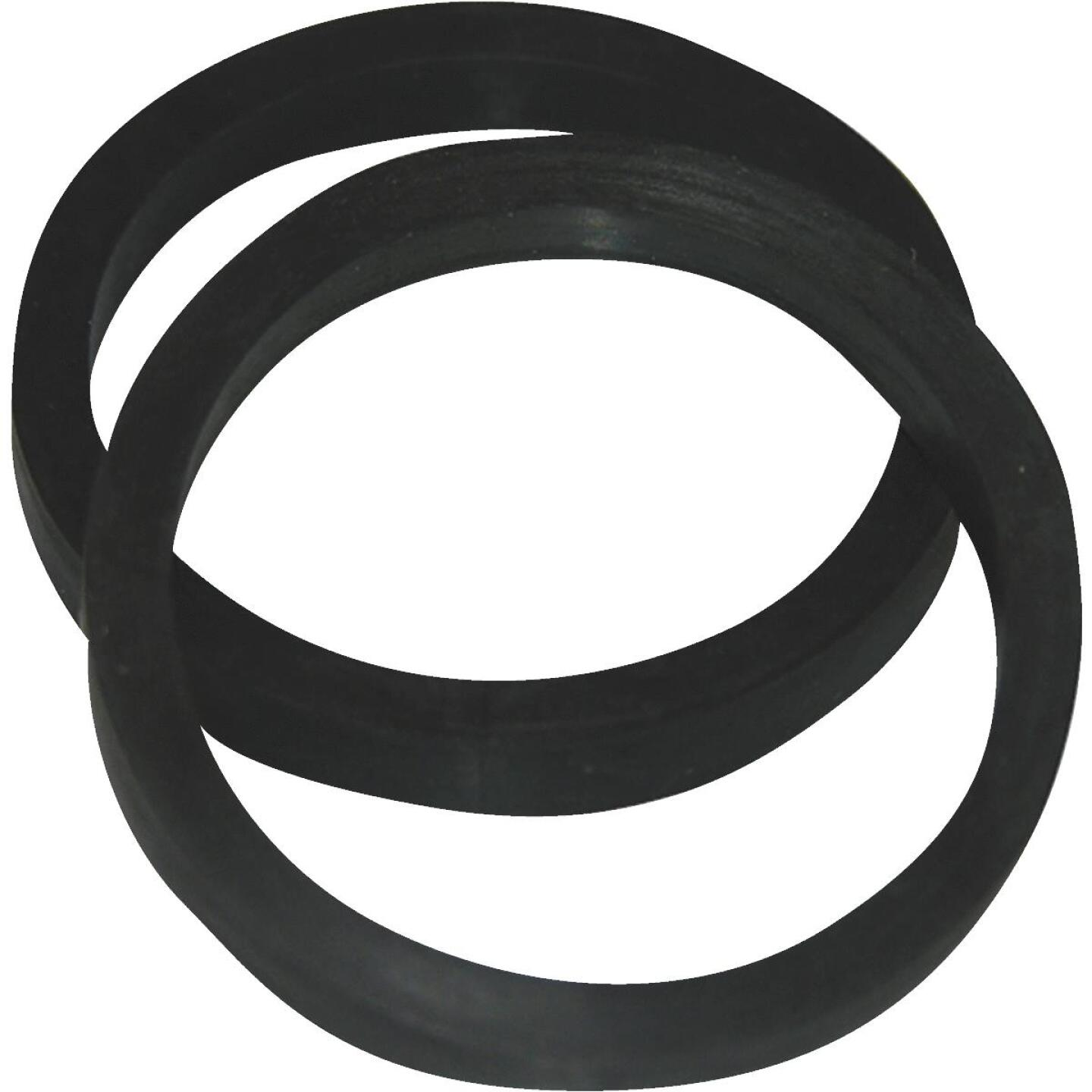 Lasco 1-1/4 In. Black Rubber Slip Joint Washer (2 Pack) Image 1
