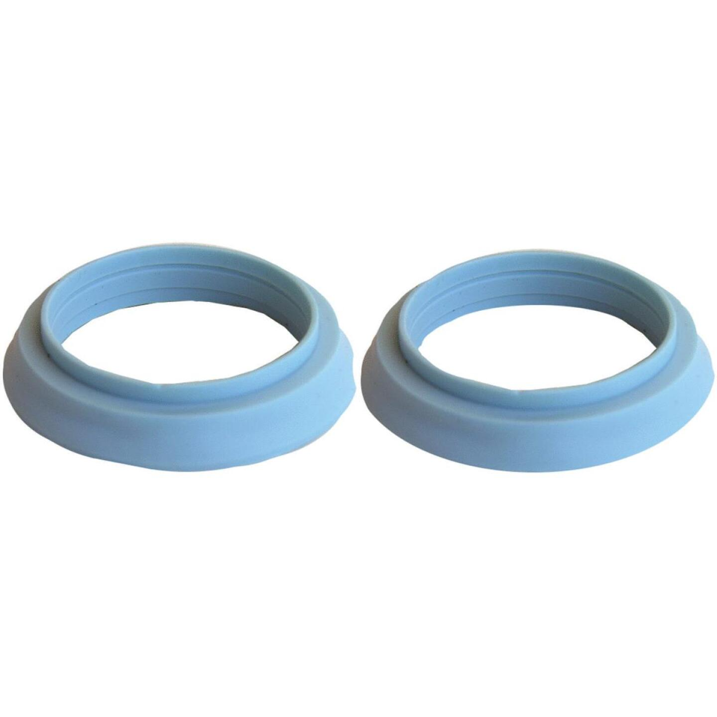 Lasco 1-1/2 In. x 1-1/4 In. Blue Vinyl Slip Joint Washer (2 Pack) Image 1