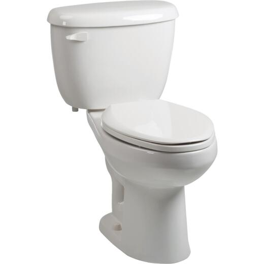 Briggs ComfortFit White Elongated Bowl 1.28 GPF Toilet Express