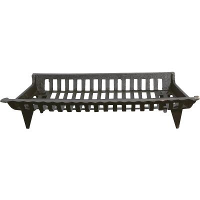 Home Impressions Zero Clearance 27 In. Cast-Iron Fireplace Grate