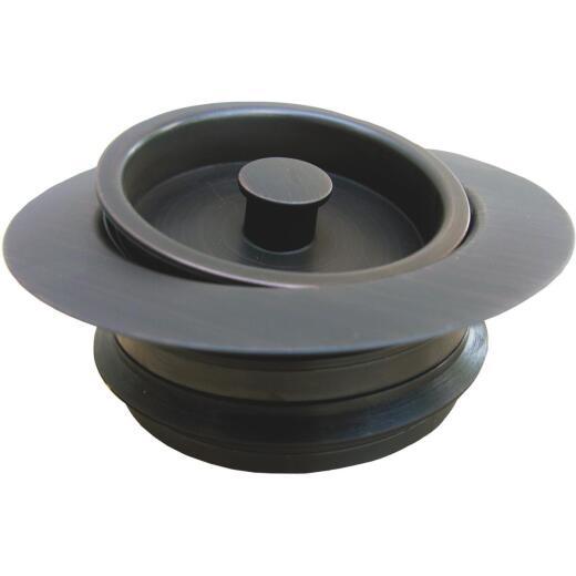 Lasco Oil Rubbed Bronze PVC Disposal Flange & Stopper