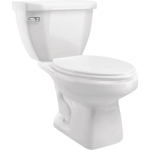 Cato Terra White Elongated Bowl 1.28 GPF Toilet-To-Go
