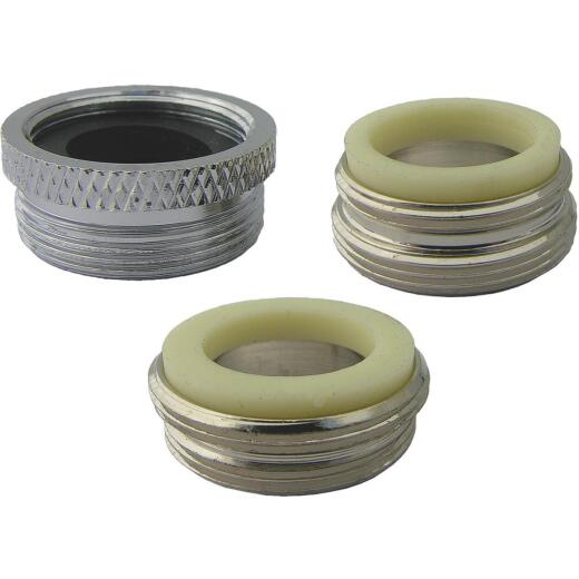 Lasco Faucet Adapter Kit with Various Sizes