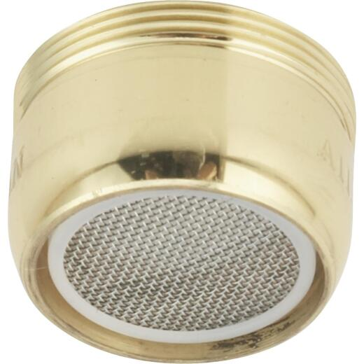 Do it Duo-Fit 2.0 GPM Water Saver Aerator, Polished Brass