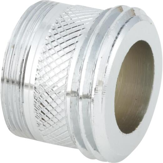 """Do it 55/64""""-27 Male Faucet to 3/4"""" Male Hose Faucet Adapter, Low Lead"""