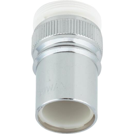 """Do it 15/16""""-27 Outside or 55/64""""-27 Inside Duo-Fit Dishwasher Faucet Adapter"""