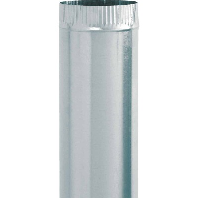 Imperial 26 Ga. 6 In. x 24 In. Galvanized Furnace Pipe
