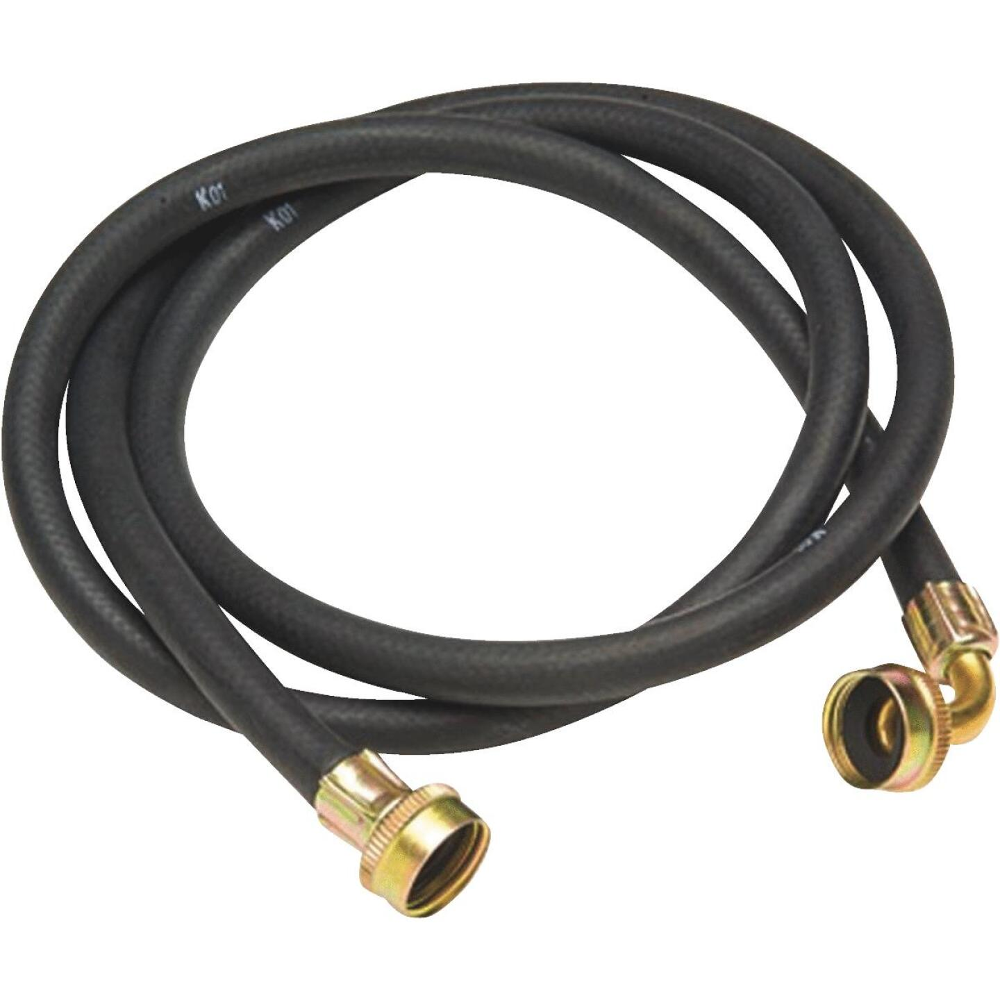 Do it 3/4 In. FGH X 6 Ft. Reinforced EPDM Rubber Washing Machine Hose Image 1