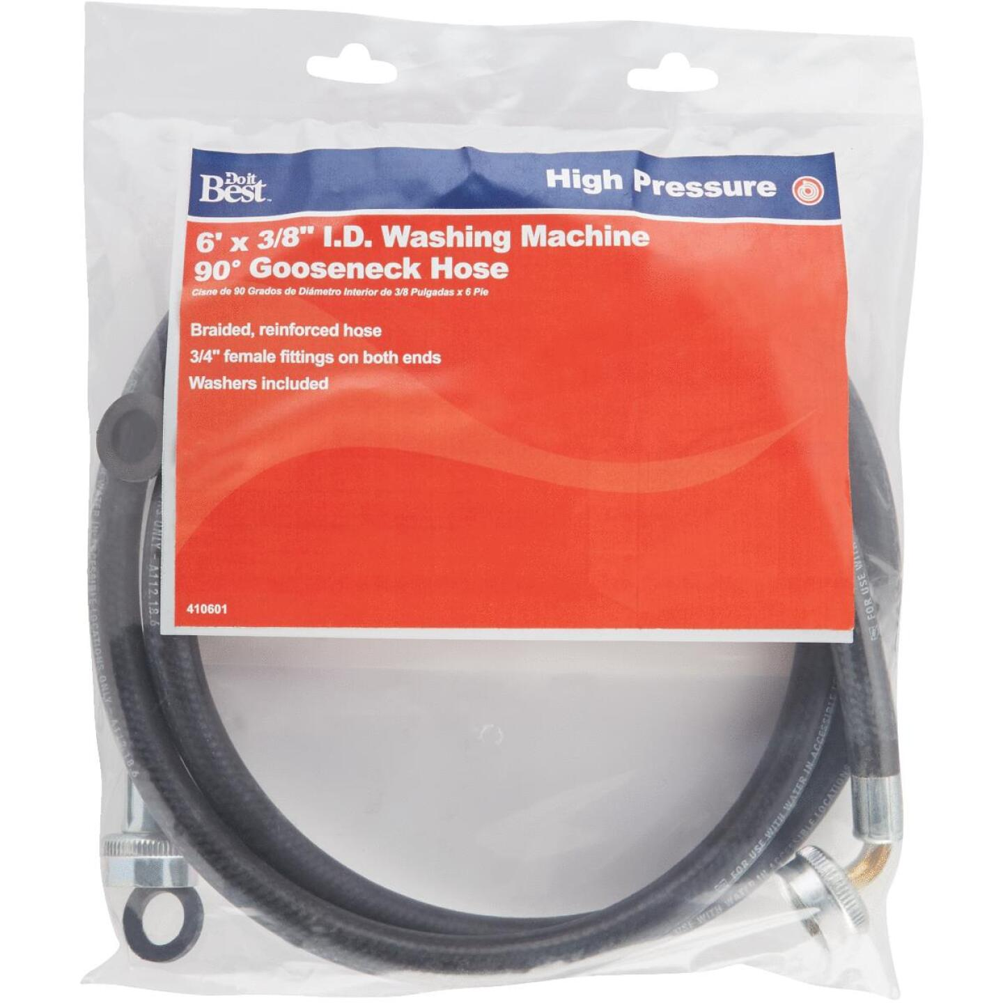 Do it 3/4 In. FGH X 6 Ft. Reinforced EPDM Rubber Washing Machine Hose Image 2