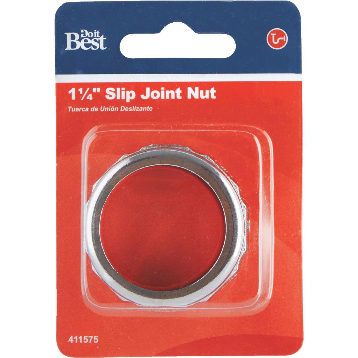 Do it 1-1/4 In. x 1-1/4 In. Die-Cast Slip Joint Nut and Washer Image 2