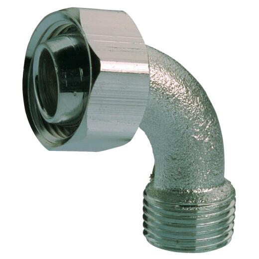 B&K Bathcock Coupling Chrome Plated Elbow