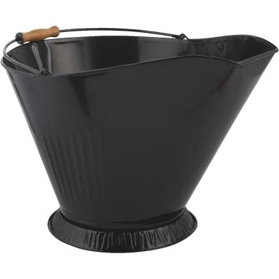 Home Impressions Wire Black Matte Coal Hod