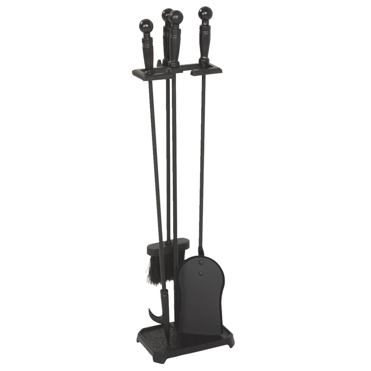 Home Impressions 4-Piece Cast Iron 28 In. H Fireplace Tool Set Image 1