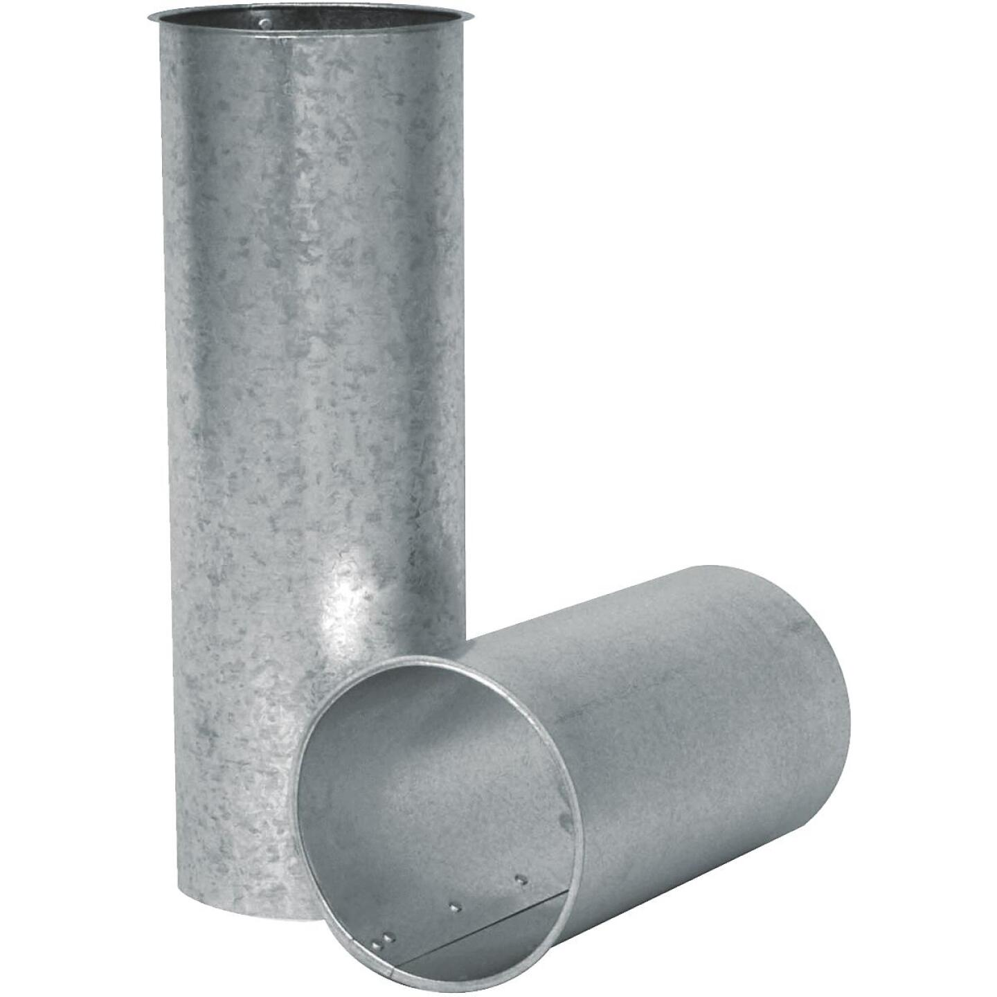 Imperial 28 Ga. 6, 7 or 8 In. Adjustable Galvanized Chimney Thimble Image 1