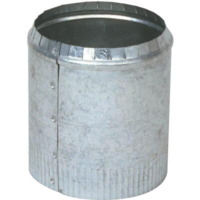 Imperial 8 In. 28 Ga. Galvanized Round Collar