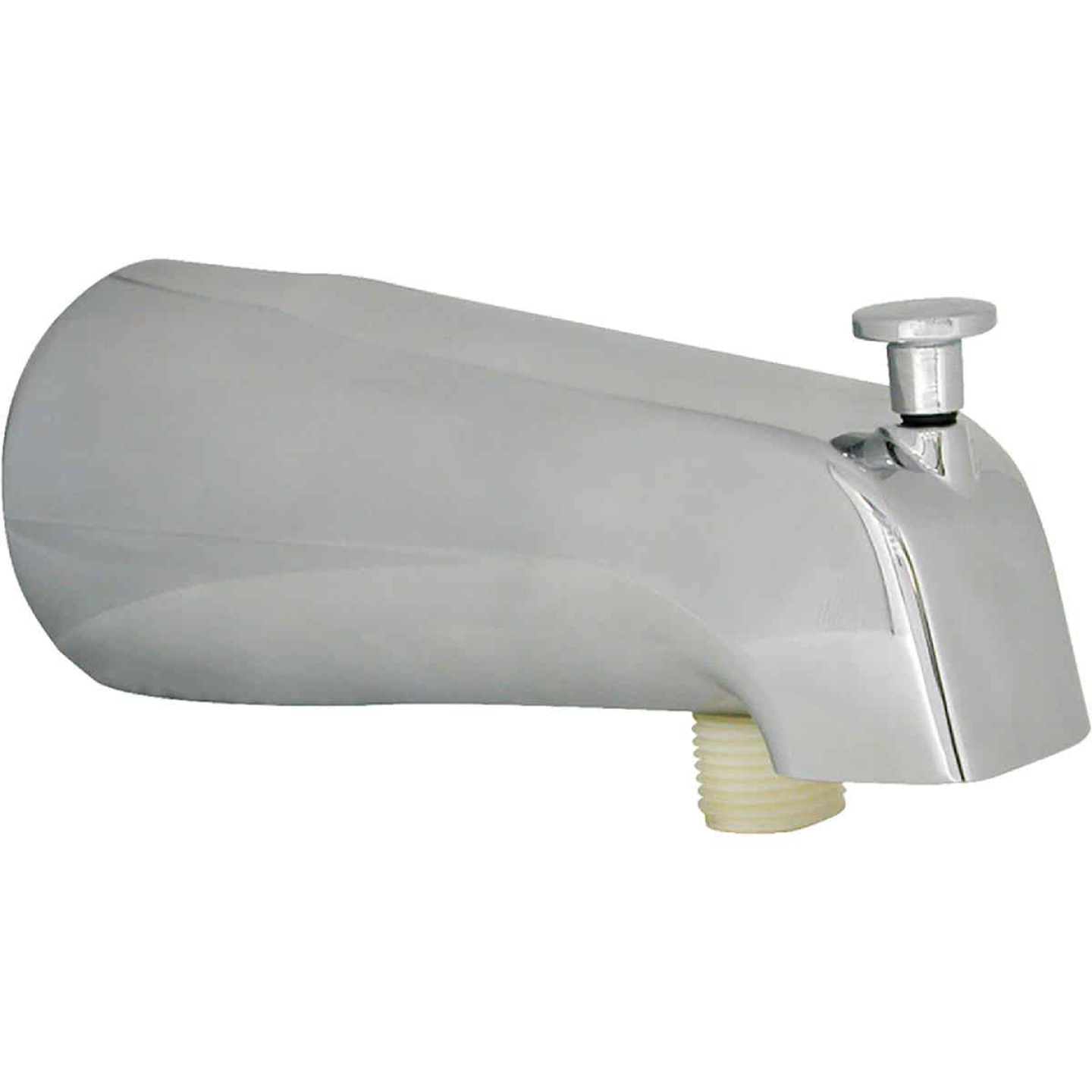 Danco 5 In. Chrome Bathtub Spout with Diverter Image 1