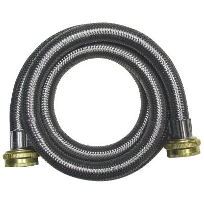 B&K 6 Ft. Stainless Steel 125 psi Washing Machine Hose