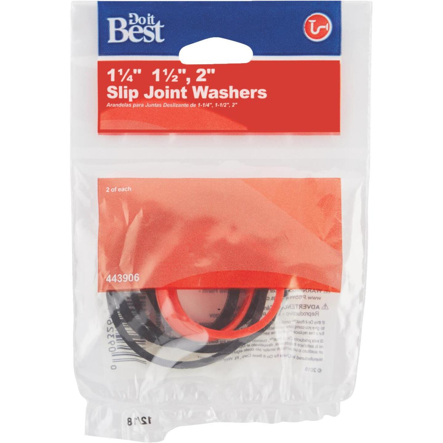 Do it Assorted Rubber Slip Joint Washers (6 Pack) Image 2